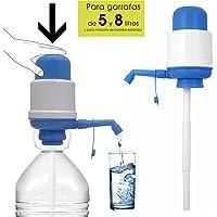 ORYX Dispensador de Agua para Garrafas y Botellas, Blanco/Azul, 19x10x11 cm