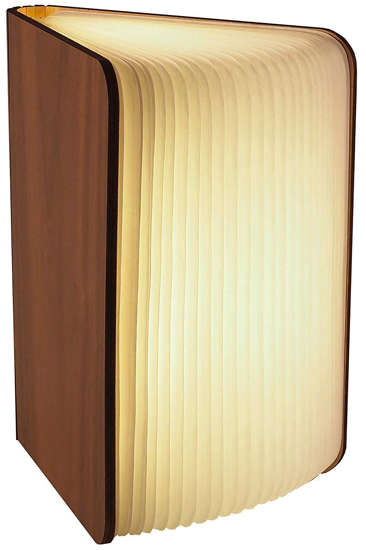 con Cierre Magn/ético l Papel Tyvek de Calidad l Brilla en 3 Colores l Posibilidades de Posiciones Ilimitadas hasta 360 grados Grande Gadgy /® L/ámpara de Libro