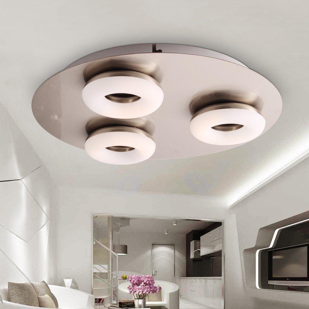 Stylehome® 15W LED Deckenlampe Deckenlampe Deckenlampe Wandlampe Spot Badleuchte Dieler Küche 5035-3C Warmweiss (15W Warmweiss) c3e040
