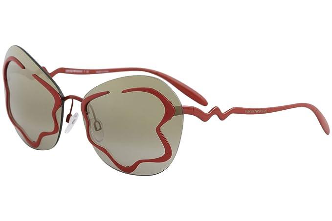 Emporio Armani 0EA2060, Gafas de Sol para Mujer, Red, 65