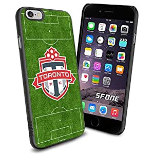 Toronto FC MLS Iron Field Logo WADE6615 Soccer iPhone 6 4.7 inch Case Protection Black Rubber Cover Protector