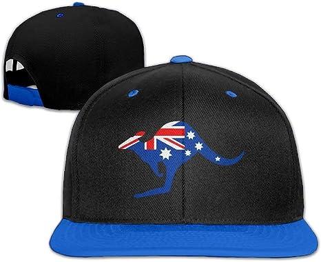 WCMBY Fashion Gorros de béisbol con la Bandera de Australia de ...