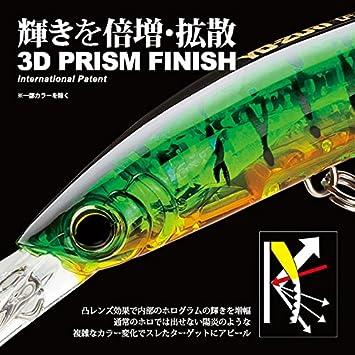 Yo-Zuri Crystal 3D Minnow Leurre Flottant