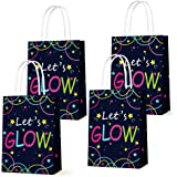 Glow in the Dark Gift Bags, Creative Unique Party Favor Bags Treat Bags for Birthday Party Supplies(12pcs)