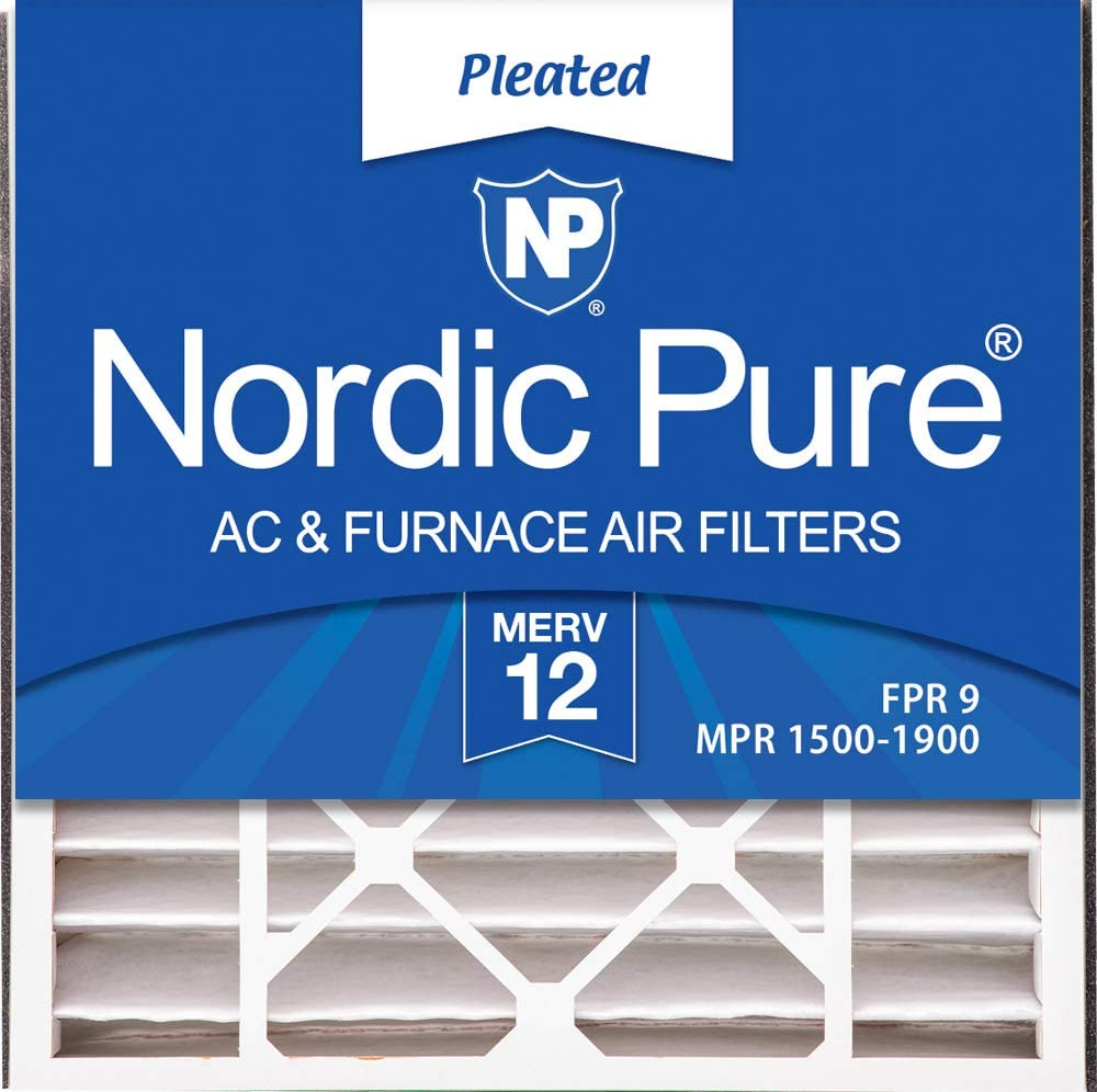 4 PACK MERV 10 Trion Air Bear 255649-103 Replacement AC Furnace Filter 4-15//16 Actual Depth Nordic Pure 20x20x5 4 PACK