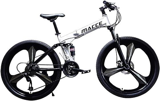 Wyfdm Bicicletas, Velocidad de Bicicleta de montaña 24/26 Pulgadas ...