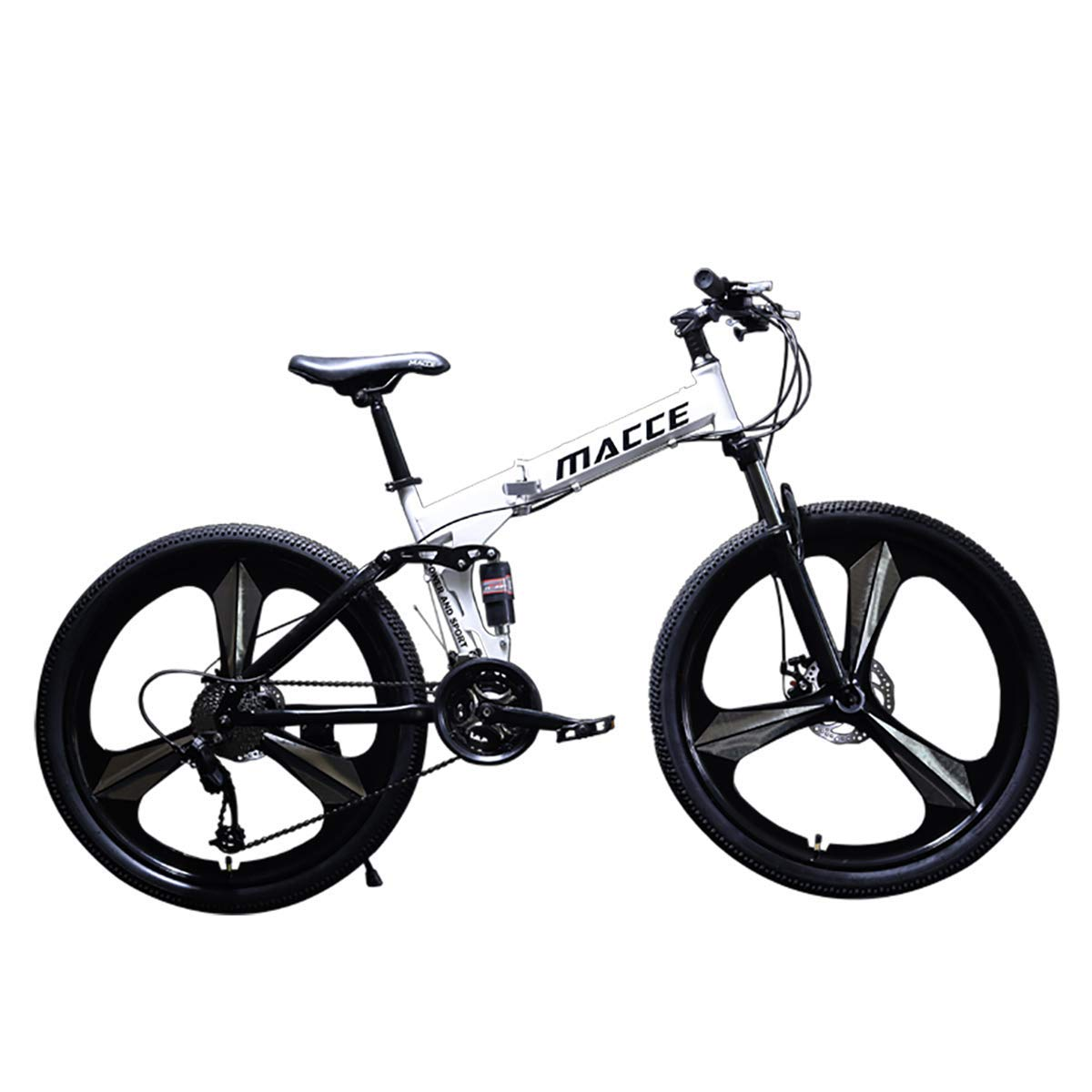 en venta en línea Wyfdm Bicicletas, Velocidad de Bicicleta de montaña montaña montaña 24 26 Pulgadas Rueda Acero 21 24 27 Velocidad Bicicleta de montaña al Aire Libre Cuesta Abajo BTX Bicicleta Freno de Disco Bicicleta Plegable  más descuento