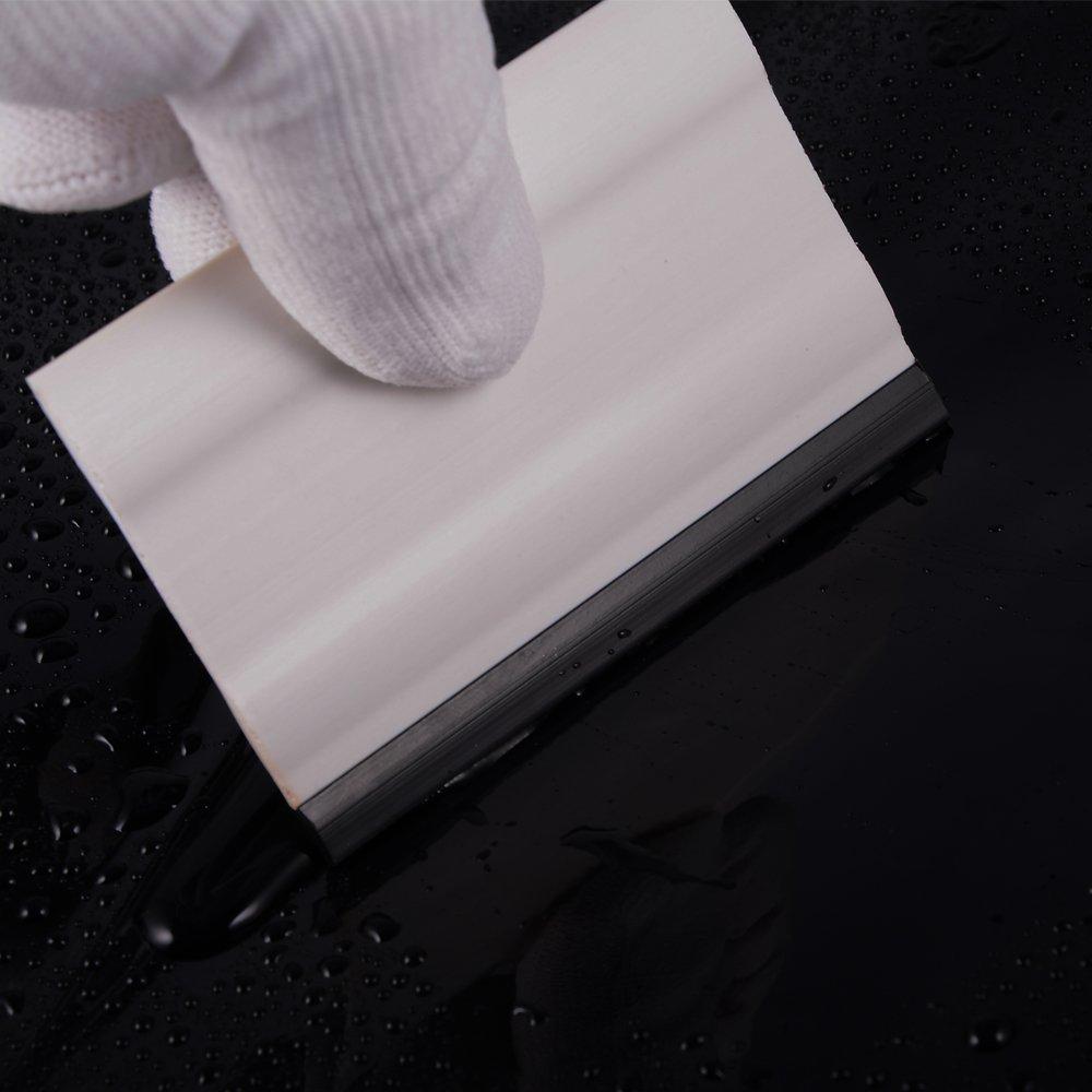 2 Pezzi Ehdis/® 3 Block seccatoio Gomma per Le Auto seccatoio Lavorare con la Pellicola Decalcomanie e Vinile Adesivi