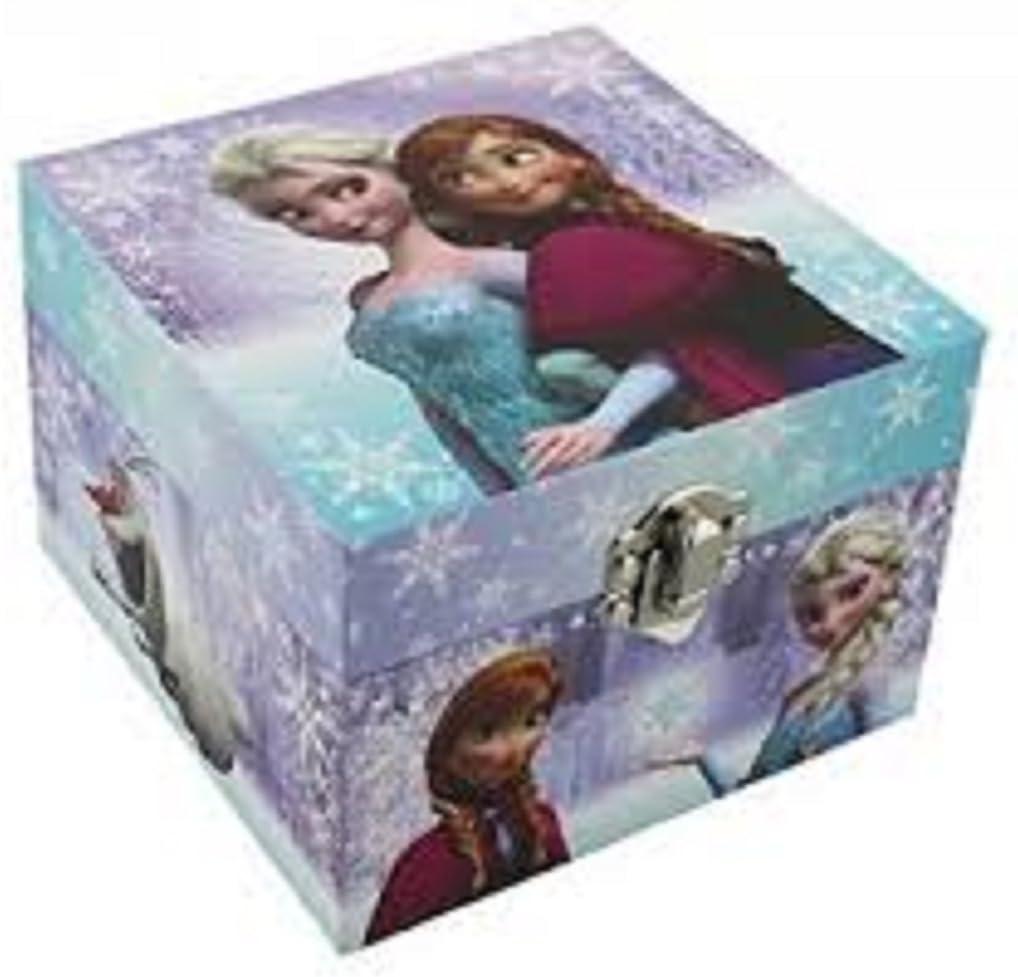 La Reine des neiges II Frozen II Robert Lopez d/élivr/ée Let it go Lut/èce Cr/éations Bo/îte /à Bijoux Musicale anim/ée en Bois avec Figurine tournante Elsa Lib/ér/ée