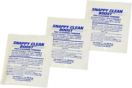 Snappy Clean Pad Cleaning Powder 3 Pack Buffing