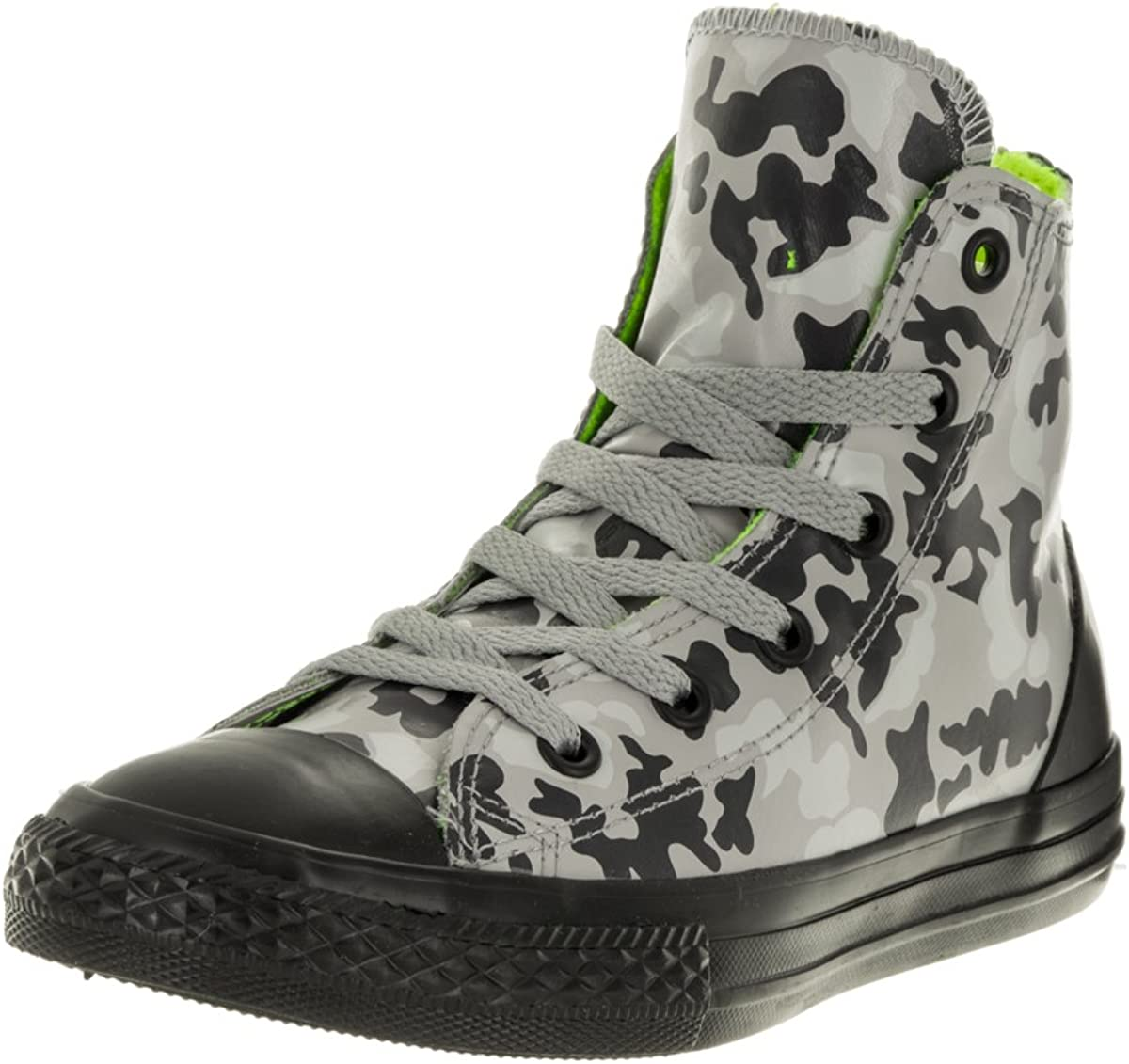Converse Kids Chuck Taylor All Star Ruber Hi Dolphin Dolphin//Black Casual Shoe 2.5 Kids US
