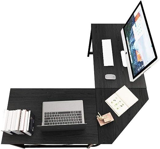 sogesfurniture Escritorio de Computadora en Forma de L, 150cm + ...