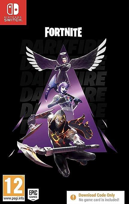 Fortnite Darkfire Bundle - Nintendo Switch [Importación inglesa] (Código digital): Amazon.es: Videojuegos