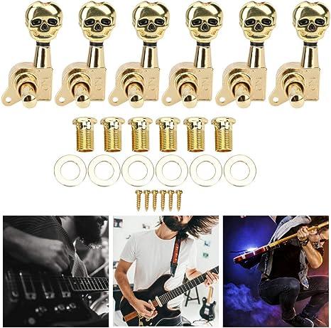 Drfeify Clavija de Afinación Guitarra, 6 Piezas Clavija de ...