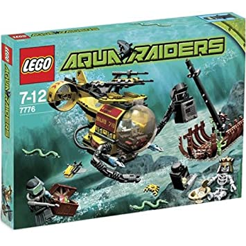 Lego Aqua Raiders Set #7776 The Shipwreck: Amazon.co.uk: Toys & Games