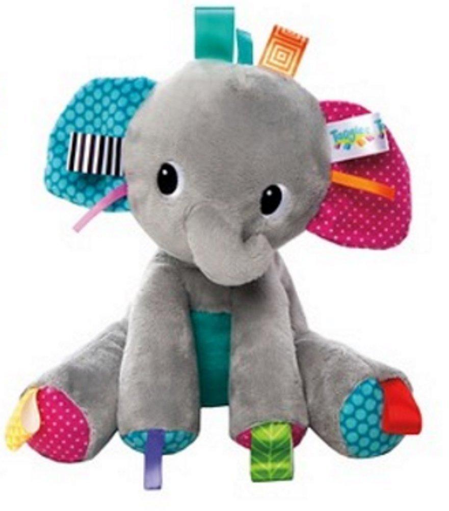 Bright Startsタグ' n Play Pals Gray Elephant Taggies   B01BAZQSNG