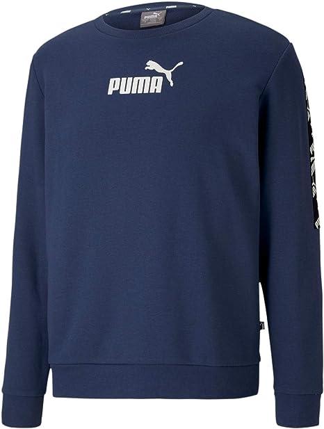 PUMA Men's Amplified Crew Tr Pullover: Amazon.co.uk: Sports