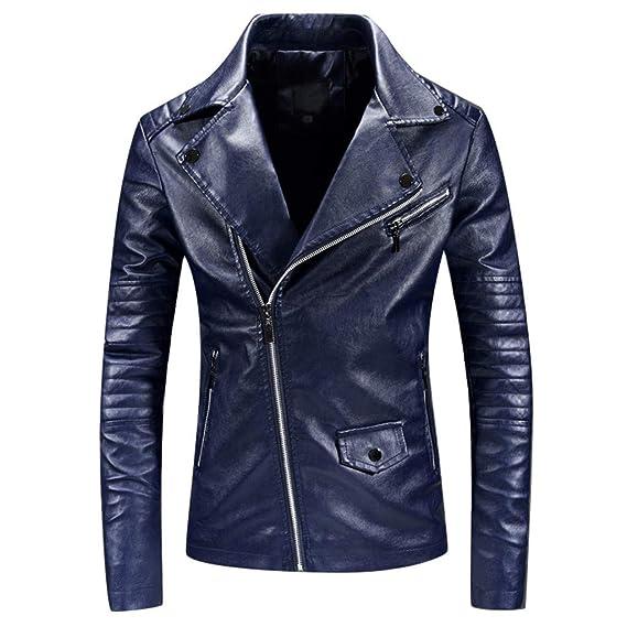 Chaqueta Moto Hombre Invierno,BBestseller Casual Color ...
