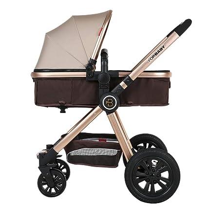 Amazon.com: HEBEONE Cochecito de bebé carrito de bebé de ...
