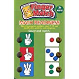 LEARNING WRAP-UPS SELF-CORRECTING Finger Match Math Readiness - Pre-K Numbers and Counting Book