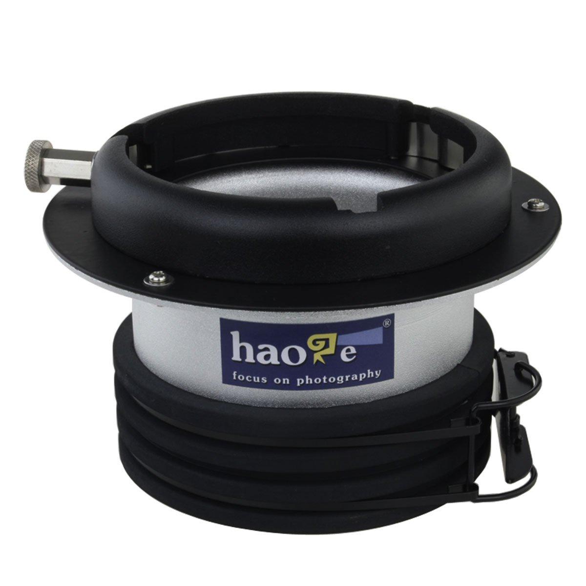 Haoge Profoto to Bowens Mount Speedring Ring Adapter Converter for Studio Light Strobe Flash AD-P2B