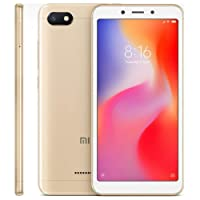 Smartphone Xiaomi Redmi 6A Global Tela 5.45 Camera 13MP Face Unlock (32GB/2GB Dourado)