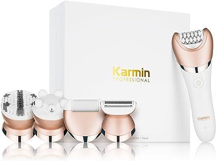 Karmin - Depiladora y afeitadora (5 en 1): Amazon.es: Belleza