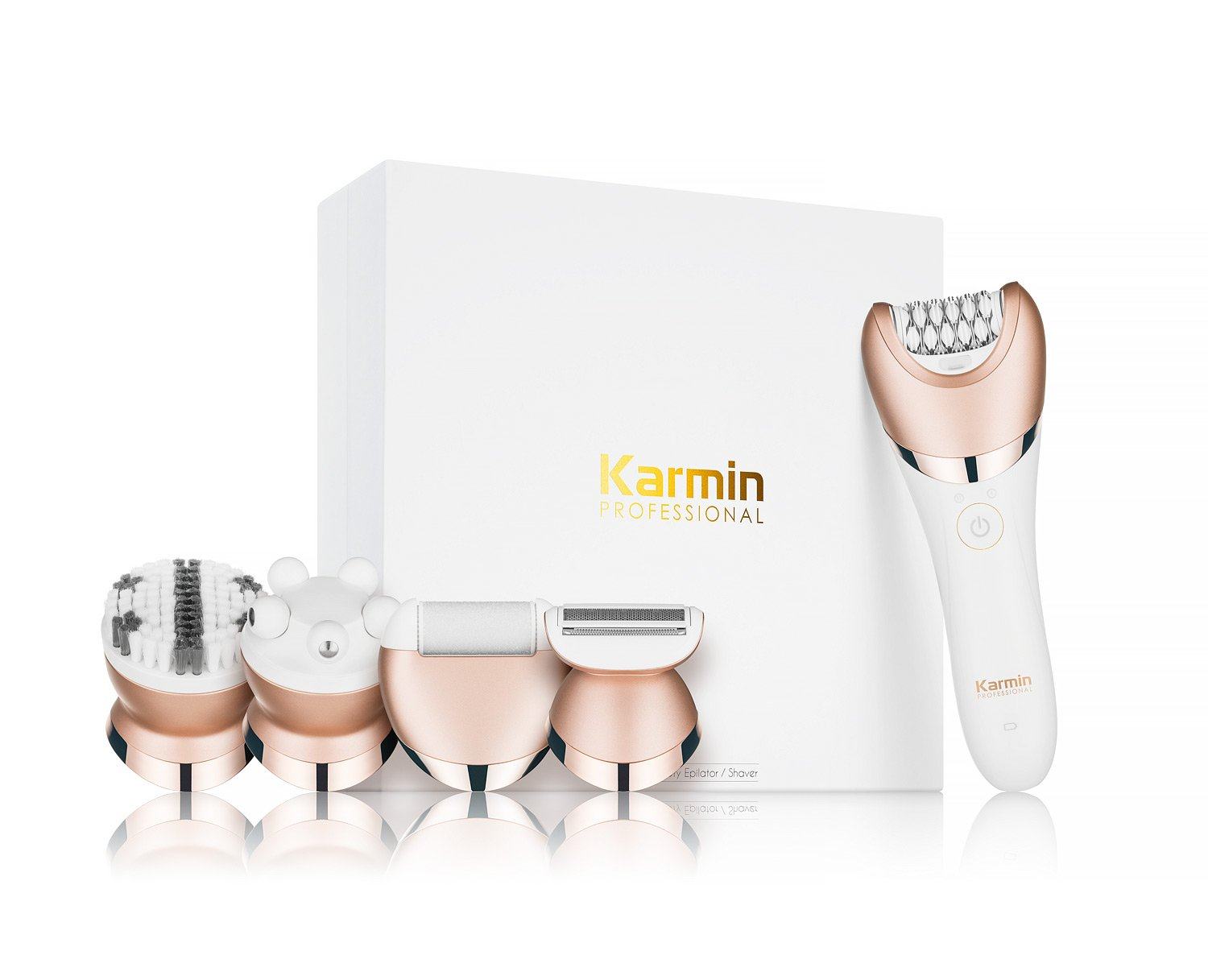 Karmin 5 in1 Wet and Dry Epilator / Shaver by Karmin