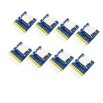 Sharplace 8 Piezas de Módulo de Plataforma SD Lleva Pin de ...
