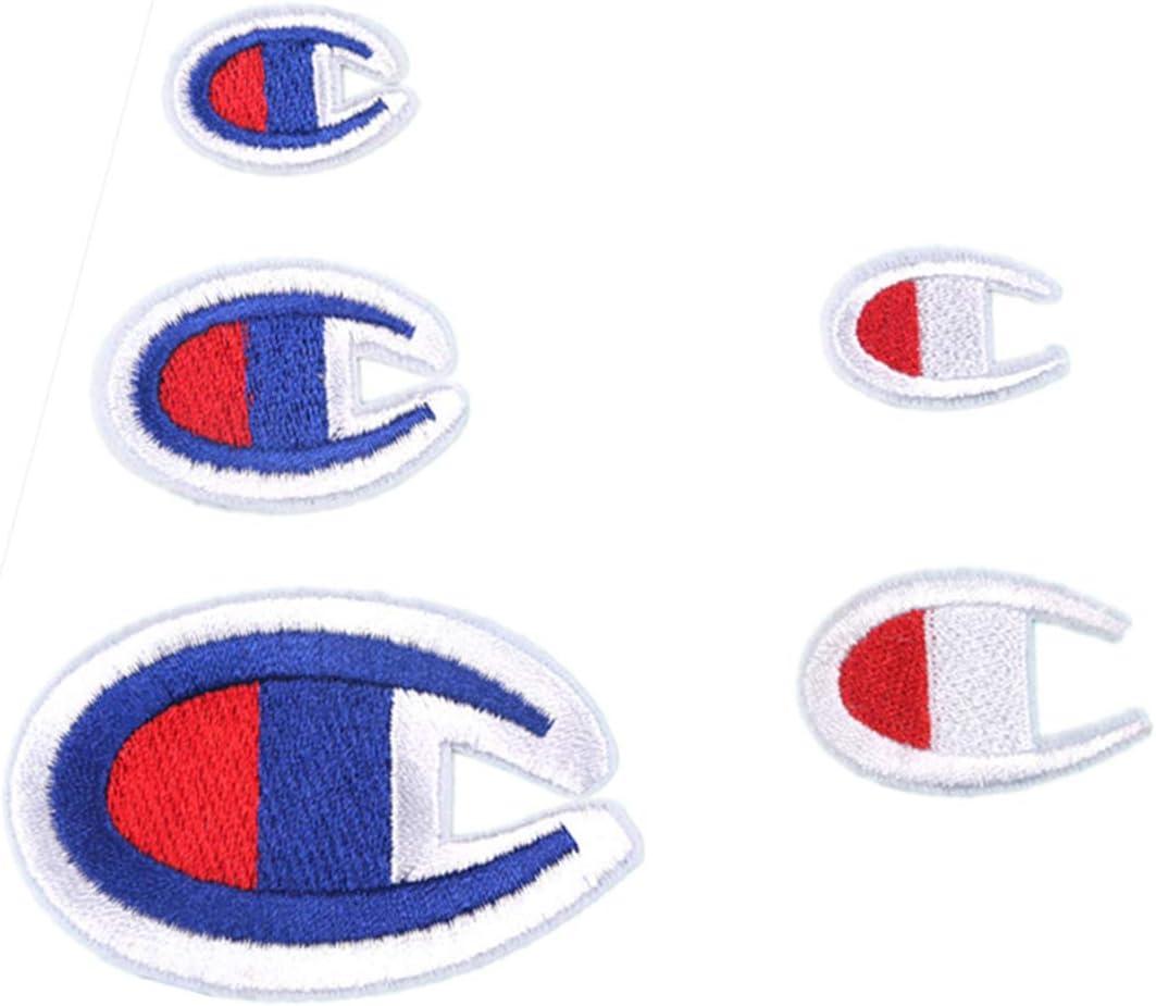 jupe Champion Patch brod/é version US classique r/étro sauvage simple Patch thermocollant /à coudre sur tissu sac