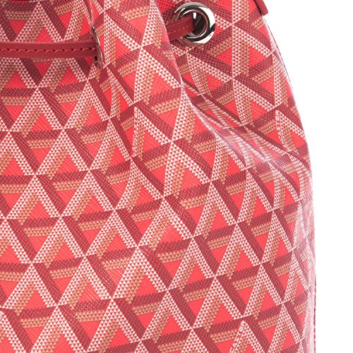 Lancaster Paris Borsa A Spalla Donna 41801ROUGE Canapa Rosso