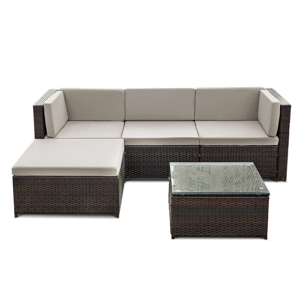 ikayaa rattan lounge set loungem bel loungeset loungegruppe 3 farbe optional kaufen. Black Bedroom Furniture Sets. Home Design Ideas