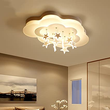 Dimming Ceiling Lamp Romantic Home LED Cloud Ceiling Light ...