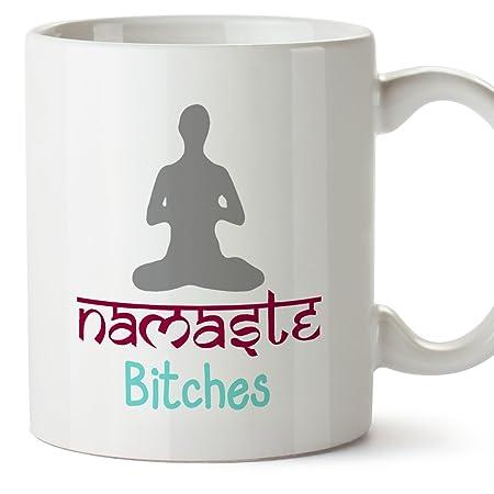 Tazas de desayuno original para regalar adictos al yoga ...