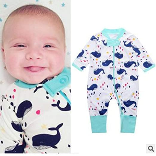 Amazon.com: Chitop Retail - Newborn Infants Baby boy Girl wear ...
