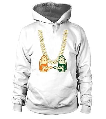 Miami Florida Turnover Chain Tshirt Unisex Hoodie