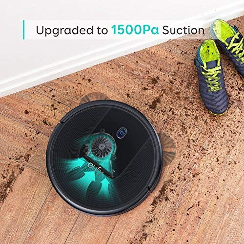 eufy BoostIQ RoboVac 30, Upgraded, Super-Thin, 1500Pa Strong Suction, 13 ft Boundary Strips Included, Quiet, Self-Charging Robotic Vacuum Cleaner, Cleans Hard Floors to Medium-Pile Carpets