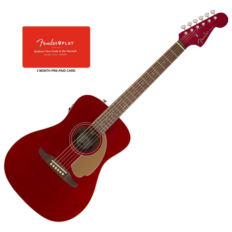 Fender 0970722009 Malibu Player - Guitarra eléctrica acústica ...