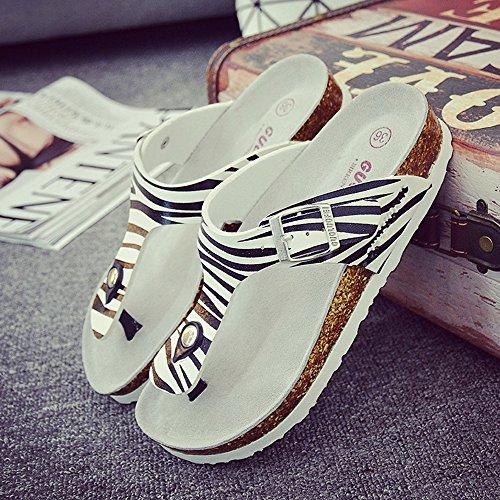 de De De De Moda Pareja Zapatillas Portátil Años De Hembra Tamaño LIXIONG CN41 De Zapatos moda Zapato 18 Zapatillas Verano Playa Zapatos UK7 40 De De Corcho EU40 EIBvTw
