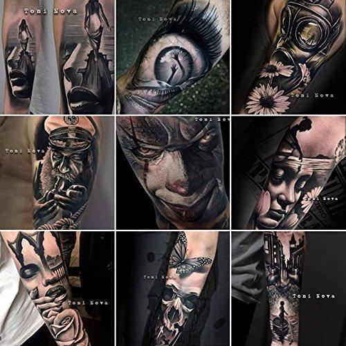Tinta de tatuaje Set de 6 colores de piel 15 ml: Amazon.es: Salud ...