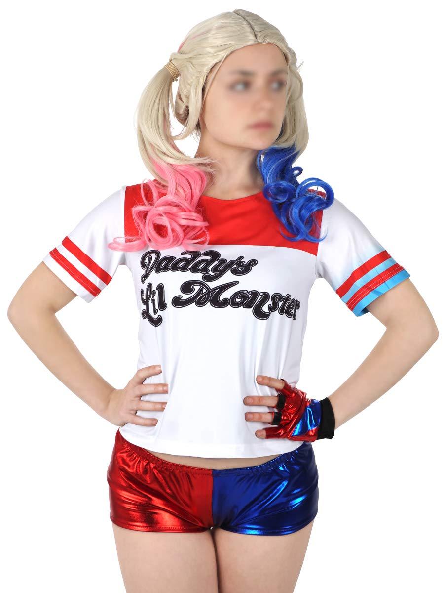 KeySmart Suicide Squad Harley Quinn Disfraz: Amazon.es ...