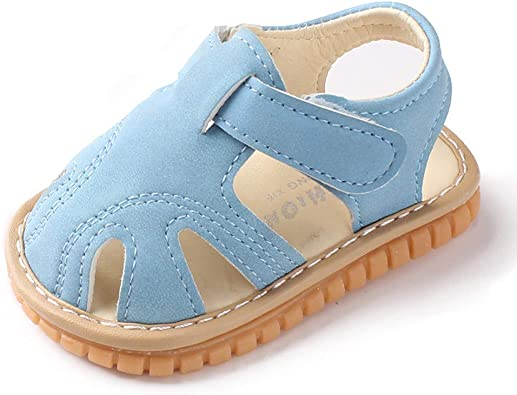 Baby Leather Shoes Closed Toe Baby Sandals Baby Girl shoes Toddler Sandals Toddler Sandals for Boys /& Girls Baby Soft-Sole Sandals