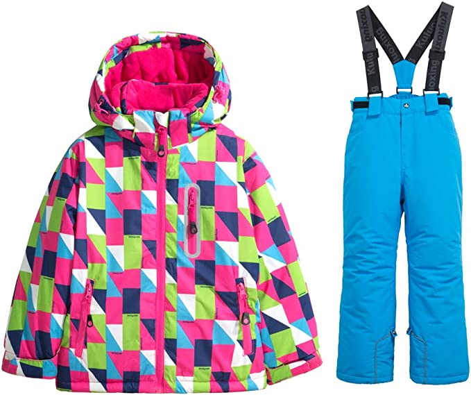 Get New Get New Best Online Girls Patterned Snow Pants