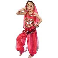 Familizo Les Filles Montrent des Vêtements ❤️ Danse du Ventre Spectacle de Danse Indienne