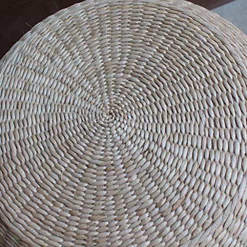 RXY-Wicker chair Summer Cool and Ventilated Round Japanese Style Thick Rattan Cushion Meditation Tea Ceremony Coffee Table Cushion [1pack] (Size : 40cm) by RXY-Wicker chair (Image #1)