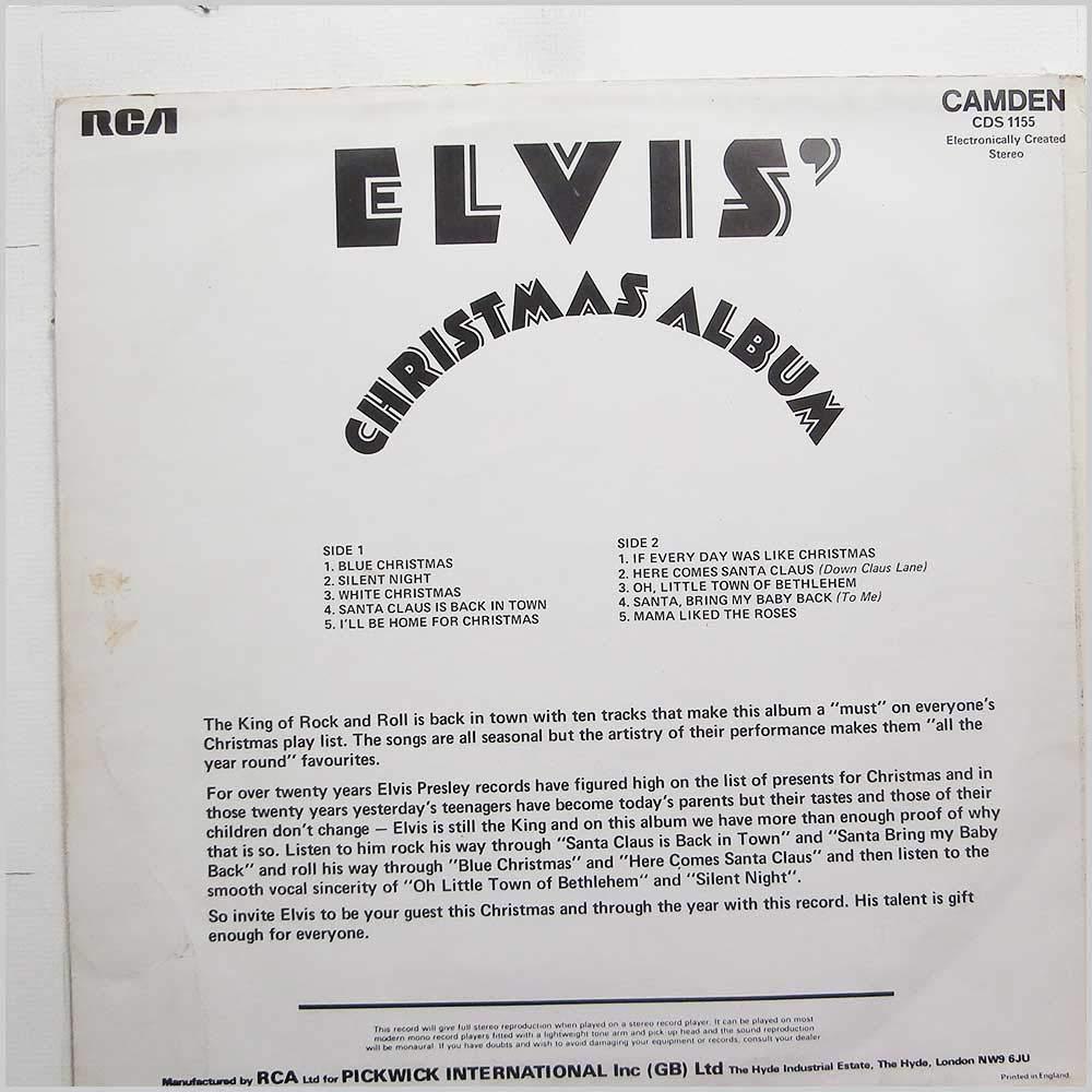 Elvis Presley - Elvis\' Christmas Album - Amazon.com Music