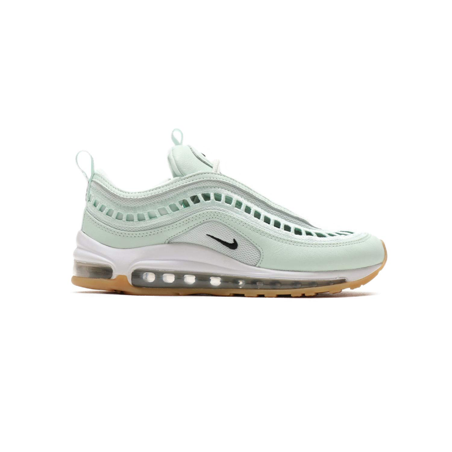 96c13f6144 Galleon - NIKE Air Max 97 Ultra '17 Barely Green/Black-Gum Yellow (Womens)  (8.5 B(M) US)