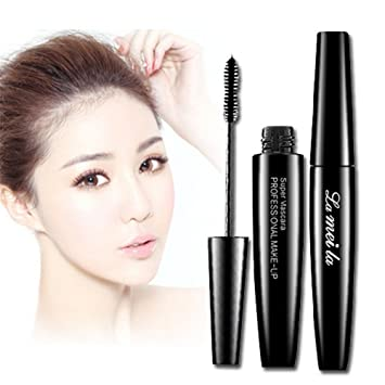 lameila Waterproof Mascara Black Mascara Curling and Thick Eye Eyelashes
