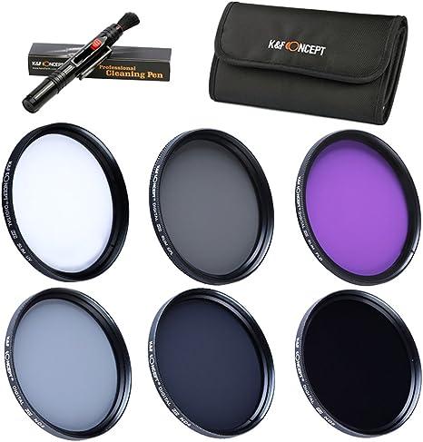 40.5mm Packs de Filtro Fotográfico: Amazon.es: Electrónica
