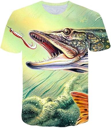 Camiseta con Estampado 3D para Mujer,Informal,Cómoda,con ...